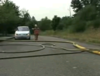Fire Hose on Road