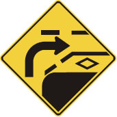reserved lane warning