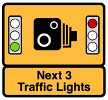 intersection safety camera sign