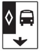 Bus Lane Only Sign