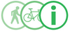 Pedestrian and Bicycle Information Center Logo